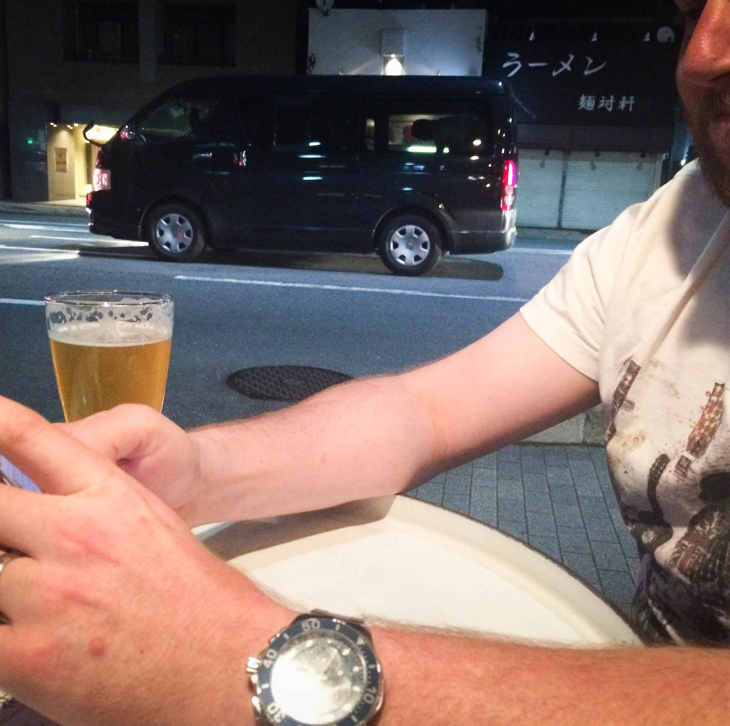 Untappd Wife in Kyoto