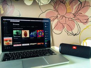 JBL bluetooth speaker and spotify Travel essentials