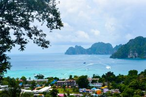 The view of Phi Phi Don Ao Nang